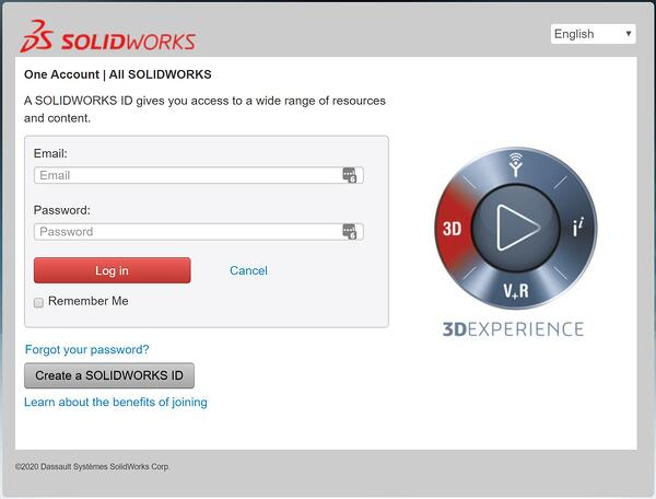 SOLIDWORKS Customer Center Login