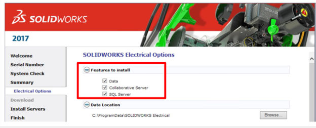 SOLIDWORKS-Electrical-Server-Install-Features-to-Install-1-624x253