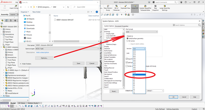 SOLIDWORKS to DWG