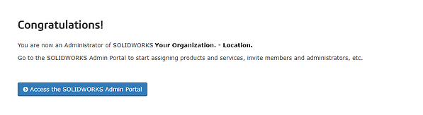 MySolidWorks Admin Portal Administrator Complete