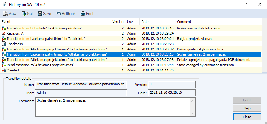 PDM File History 05