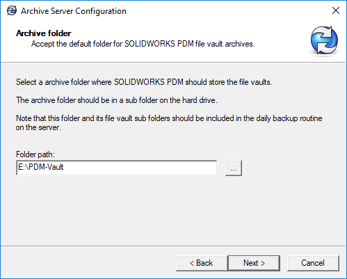 Archive Server Archive folder 02